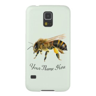 Honey Bee Watercolor Artwork Case For Galaxy S5