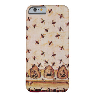 HONEY BEES AND BEE HIVES ,BEEKEEPER BARELY THERE iPhone 6 CASE