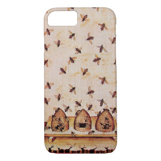 HONEY BEES AND BEE HIVES ,BEEKEEPER iPhone 7 CASE