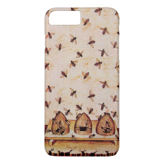 HONEY BEES AND BEE HIVES ,BEEKEEPER iPhone 7 PLUS CASE