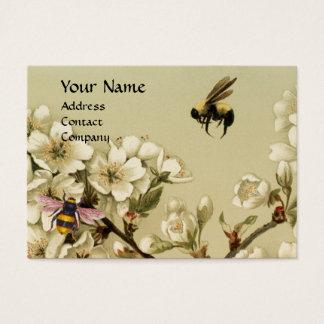 HONEY BEES AND WILD ROSES MONOGRAM