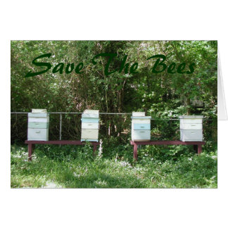 Honey Bees Card