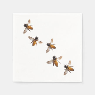 Honey Bees Disposable Napkin