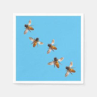 Honey Bees Disposable Serviette