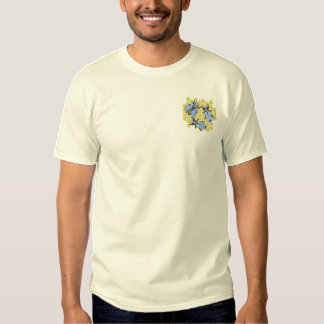 Honey Bees Embroidered T-Shirt