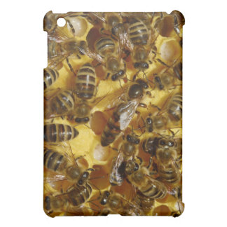 Honey Bees in Hive with Queen in Middle iPad Mini Covers