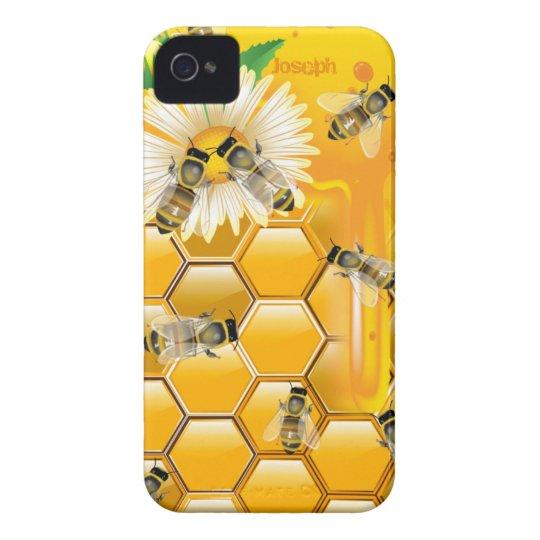 Honey Bees iPhone 4 Case-Mate Case