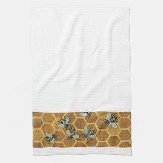 Honey Bees Kitchen Towel