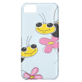 Honey Bees & Spring Flowers Case For iPhone 5C