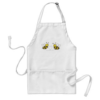 Honey Bees with Heart Standard Apron