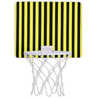 Honey Black Mini Basketball Hoop