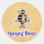Honey (Bumble) Bear Stickers