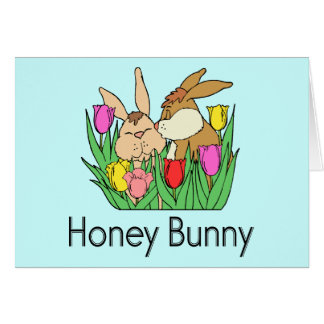 Honey Bunny Card