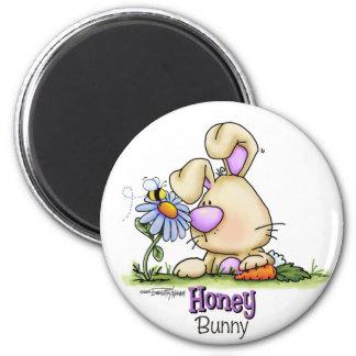 Honey Bunny Easter Treat Magnet