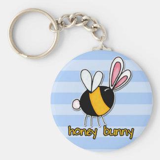 honey bunny key ring