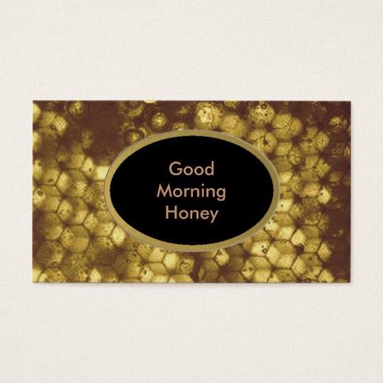 Honey Business Card
