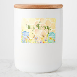 Honey Canning Label
