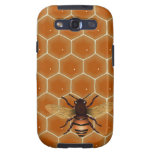 Honey Comb and Bee Galaxy S3 Cover
