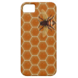 Honey Comb and Bee iPhone 5 Case