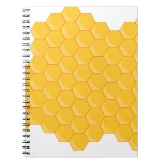 Honey comb note book