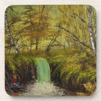 Honey Hole by Jack Lepper Coaster