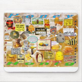 Honey, Honig, Miel, Miele, Honning, Honung - Yum! Mouse Pad