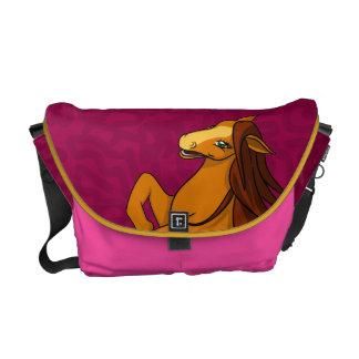 Honey Horse Courier Bags