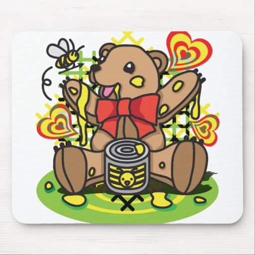 HONEY_HUNTER MOUSE PADS