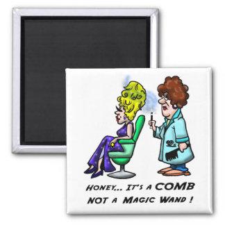 Honey...Its a Comb Square Magnet