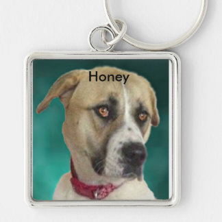 Honey Key Ring