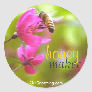 Honey Maker MS Sticker