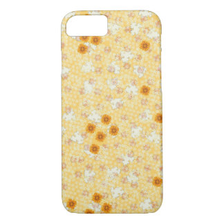 Honey Marigold Flowers iPhone 7 Case