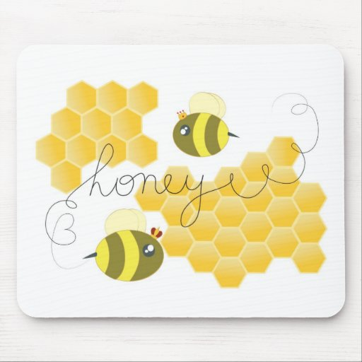 honey mouse pad