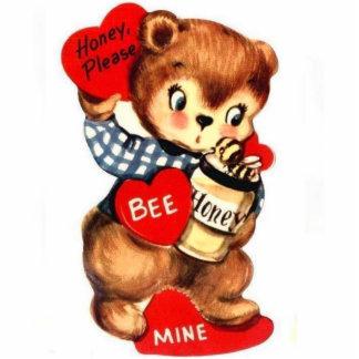 Honey Please Bee Mine Standing Photo Sculpture