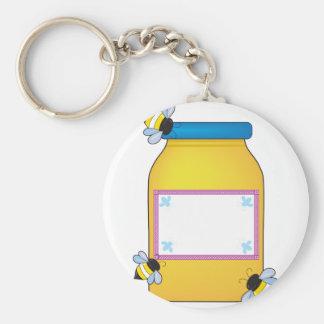 Honey Pot Key Ring