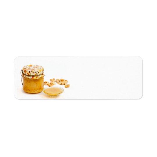 Honey Return Address Label
