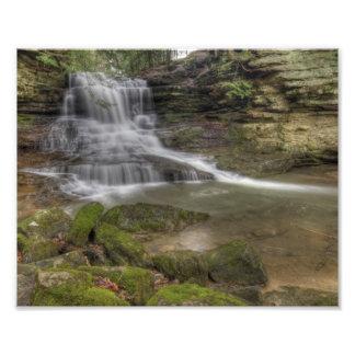 Honey Run Falls, Ohio Photograph