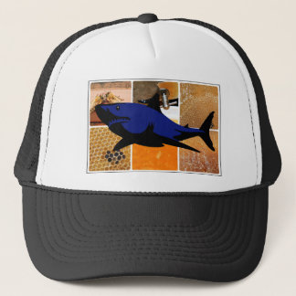 Honey Shark Trucker Hat