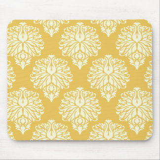 Honey Southern Cottage Chevrons Mouse Pad