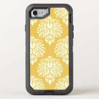 Honey Southern Cottage Damask OtterBox Defender iPhone 8/7 Case