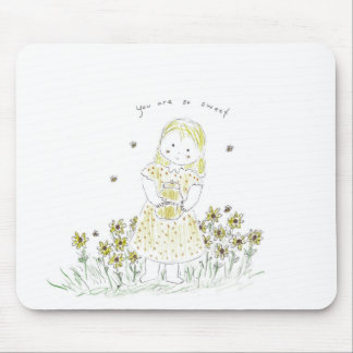 Honey sweet mouse pads