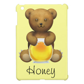 Honey Teddy Bear iPad Mini Covers