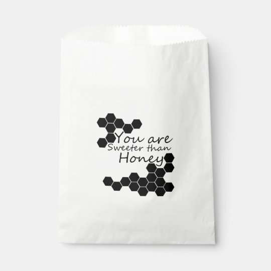 Honey Theme With Positive Words Favour Bags
