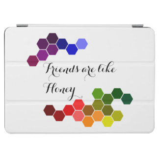 Honey Theme With Positive Words iPad Air Cover