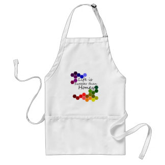Honey Theme With Positive Words Standard Apron