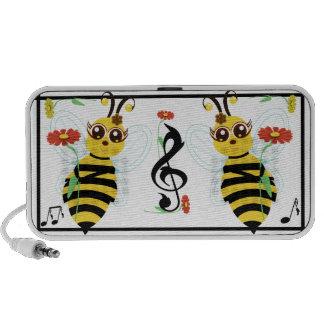 Honey Toon Bee Flowers and Music Speaker
