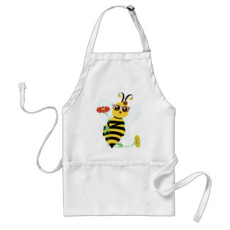 Honey Toon Bee with Flower Apron