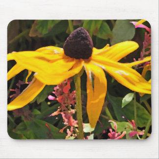 Honey Yellow Inspiration Mouse Pad