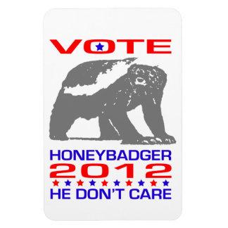 Honeybadger 2012 - Political Humor Magnet