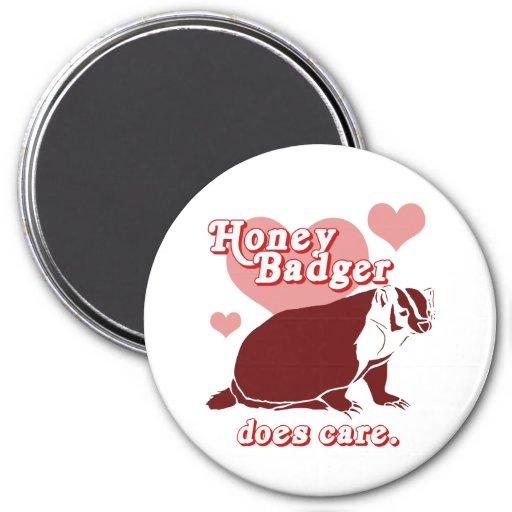 Honeybadger does care fridge magnets